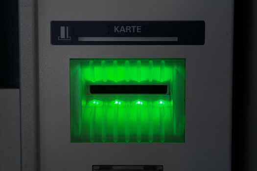 picture of ATM machine