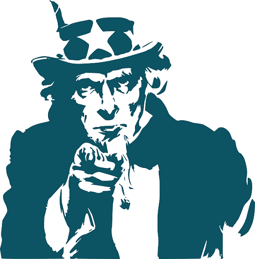 a picture of Uncle Sam pointing his finger at viewer