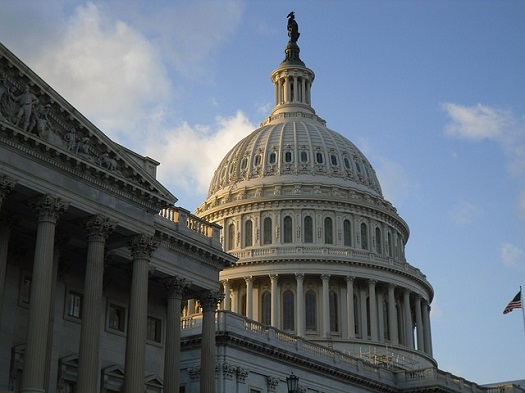 A picture of the capitol building in Washington, D.C.