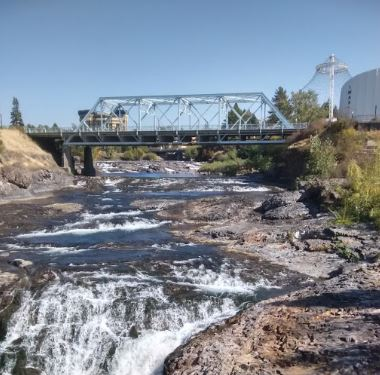 a picture of Spokane River in Riverfront Park